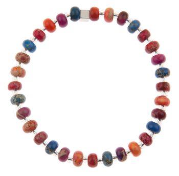 B1451-1453 Marbled Carnival Bracelet