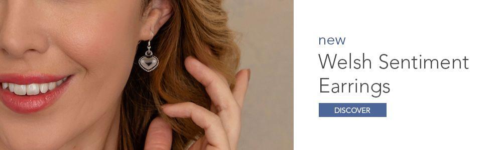Welsh Sentiment Earrings 2020 Homepage