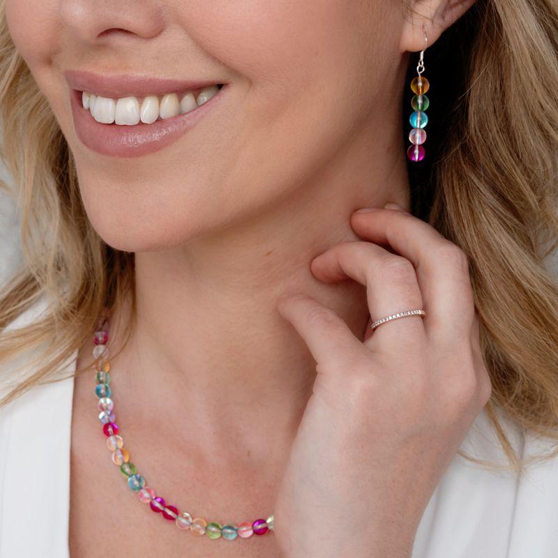 Mermaid Globes Necklace + Earring.JPG