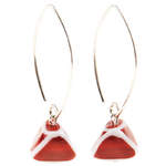 Red Picasso Earrings - RRP £29.99