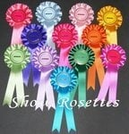12 x Special Rosettes 1 Tier