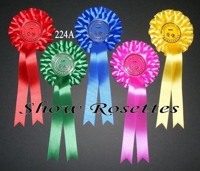 1 Placement Rosettes 2 Tier