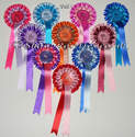 10 x Birthday Rosette Party 2 Tier