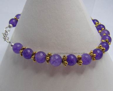 AM-GS-B Amethyst Bracelet