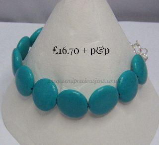 Hubei Province Turquoise Bracelet