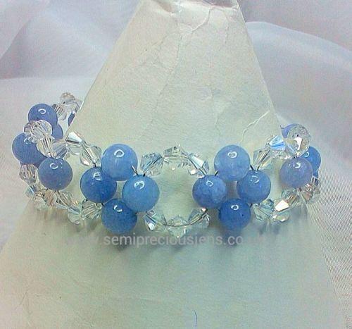 Aquamarine Sparkle Bracelet