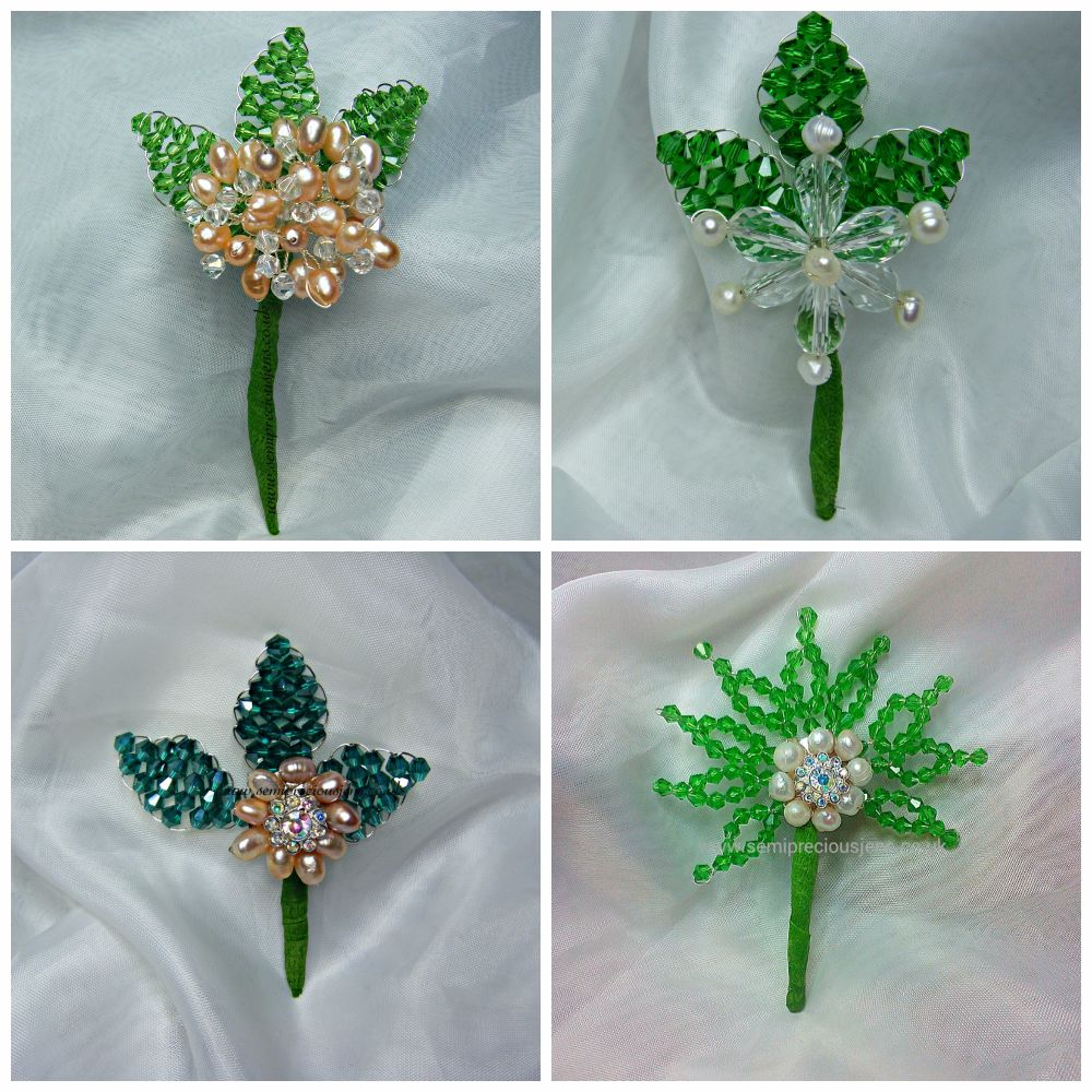 BUTTONHOLES - MADE TO ORDER