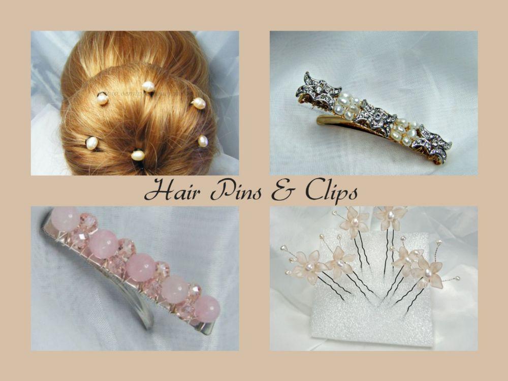 HAIR CLIPS & PINS