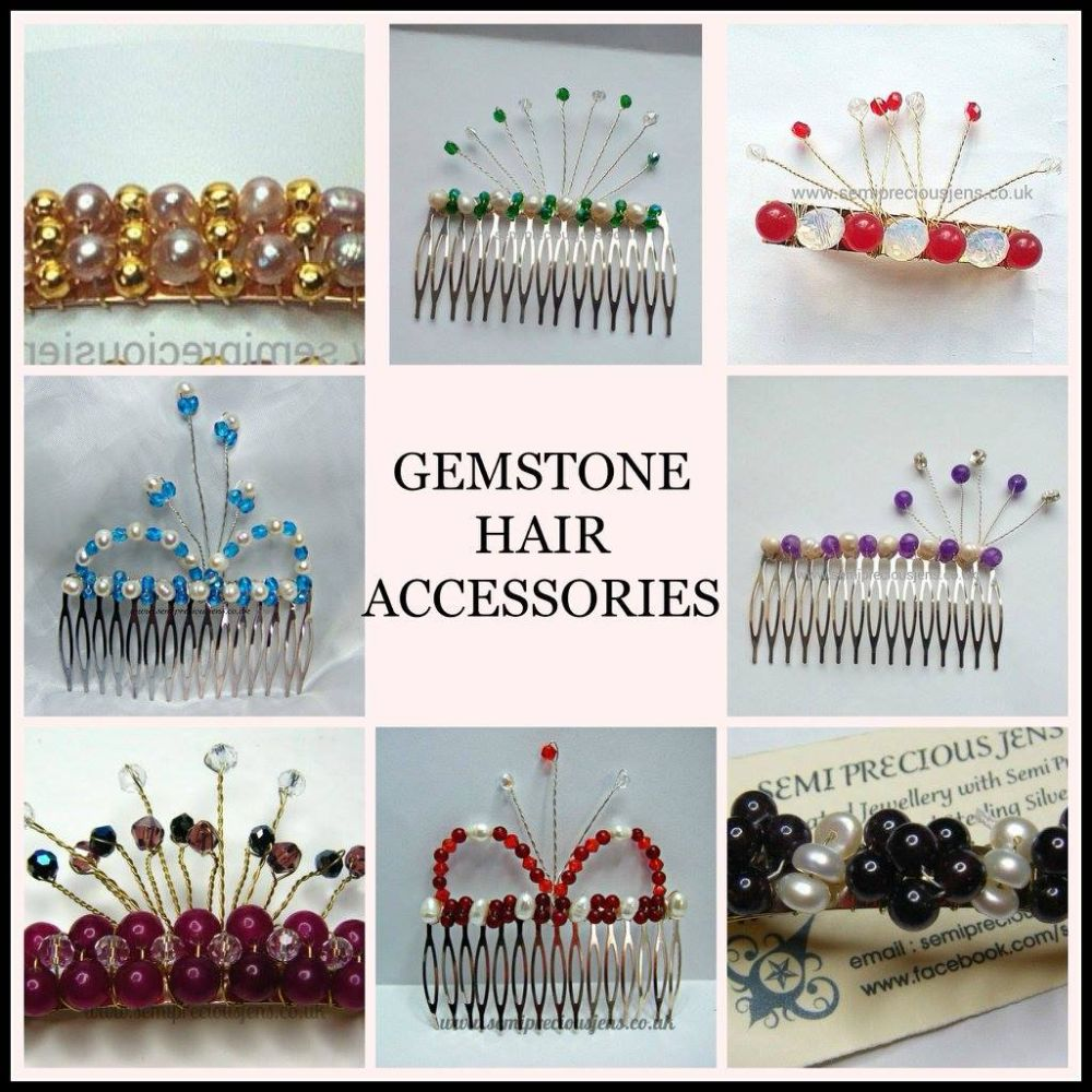 HAIR ACCESSORIES  (Clips & Combs)
