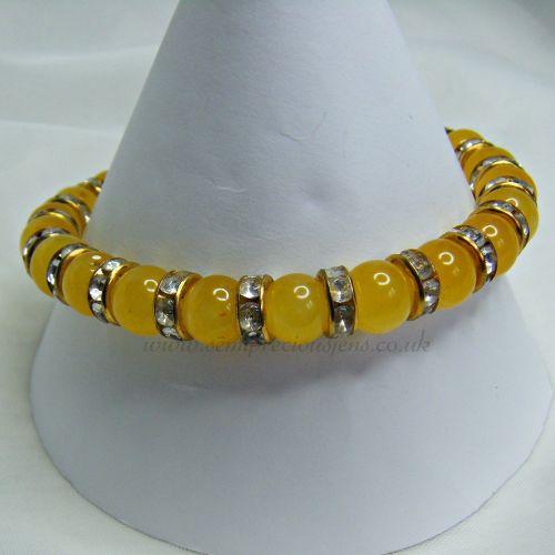 Honey Quartzite & Crystals