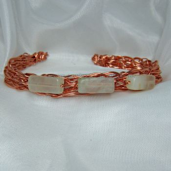 New Jade Copper Wire Bangle