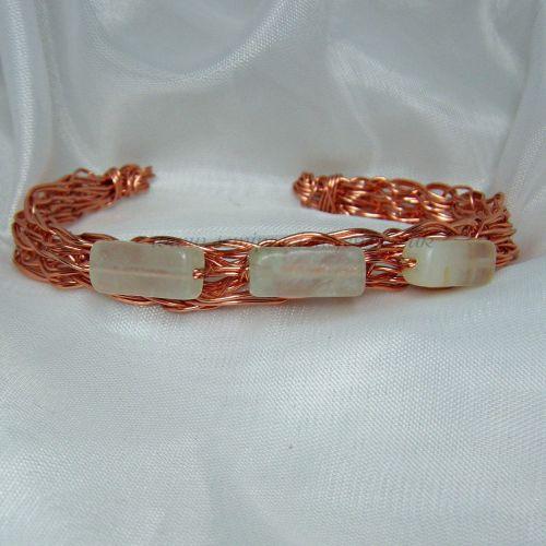 New Jade Copper Wire Bangle