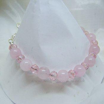 Rose Quartz Bracelet