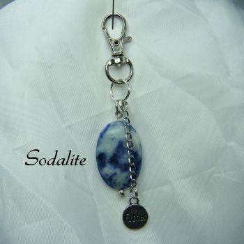 Sodalite Keyring