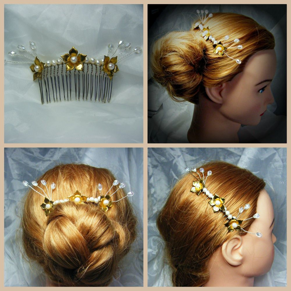 Autumn Hair Comb