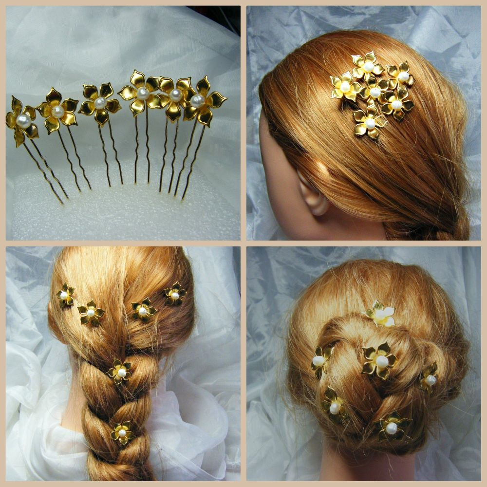 Autumn Hair Pins