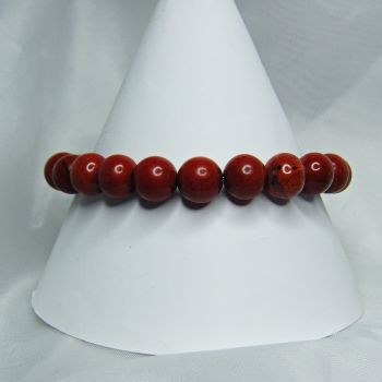 Red Jasper Stretch Bracelet