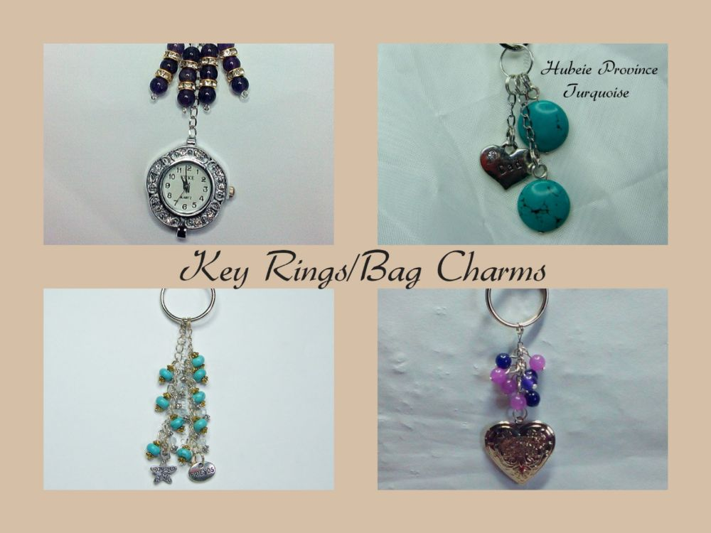 Keyrings/Bag Charms
