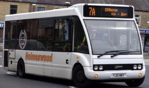 YJ10 MBY - 2010 Mercedes Optare Solo Slim 7.8m