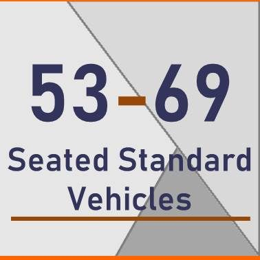 53 - 69 Seated Standard Vehicles