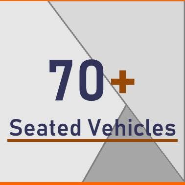 70+ Seated Vehicles