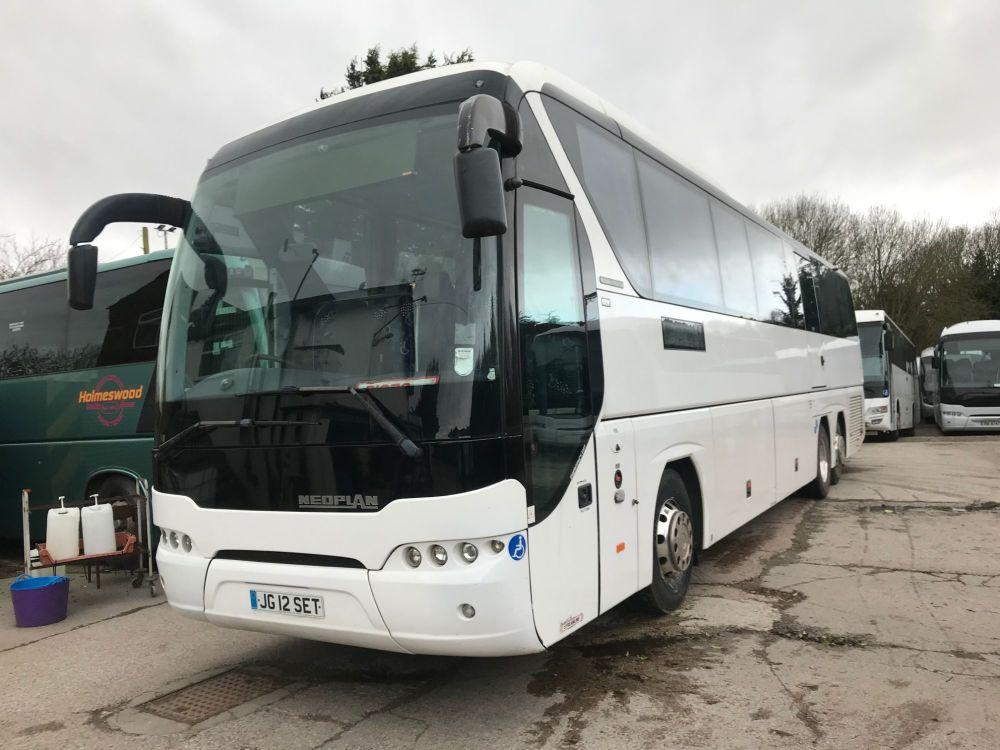 2012 - 13.2m Neoplan Tourliner - 80 Seats - PSVAR - £89,995