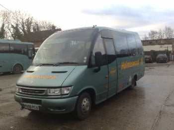 2007 - Iveco 65C17 - 21s - Indcar Wing MXP - Wheelchair Accessible - £16,995