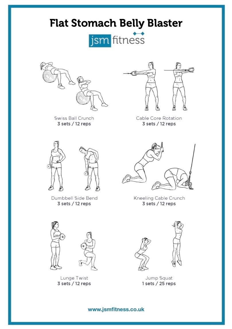 Flat Stomach Blaster - JSM Fitness