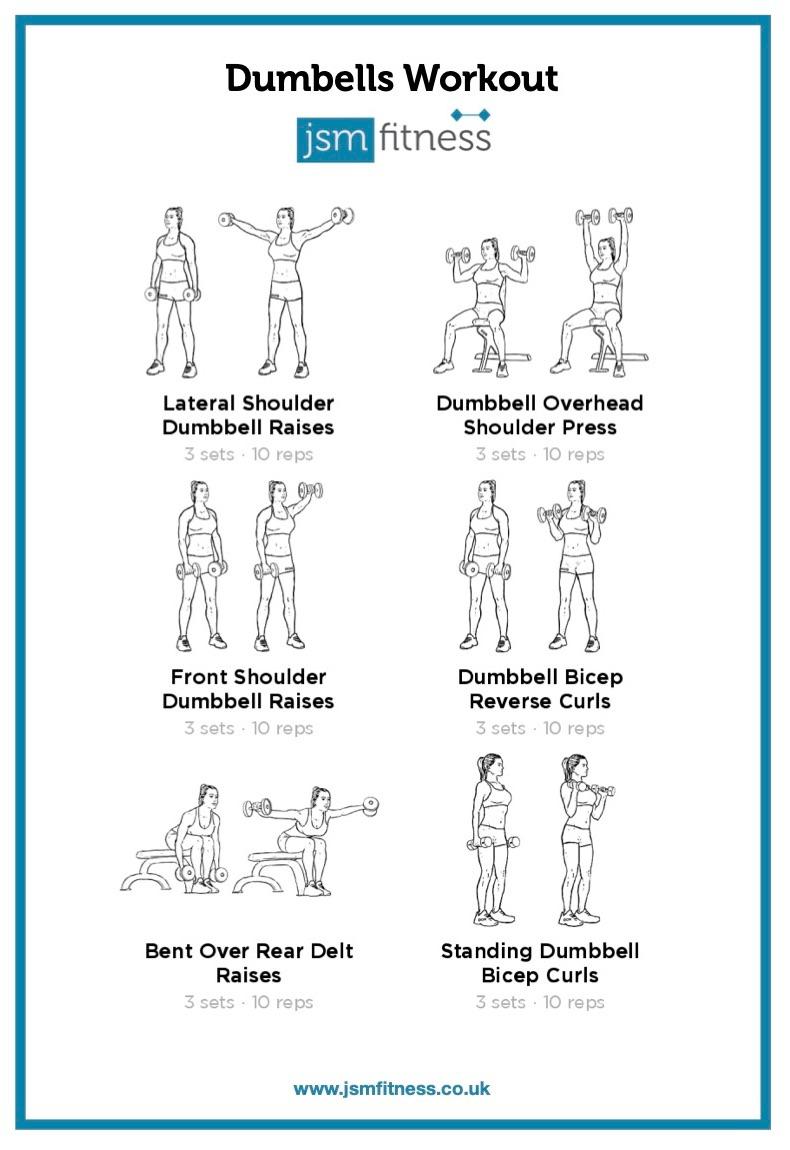 Dumbells - JSM Fitness