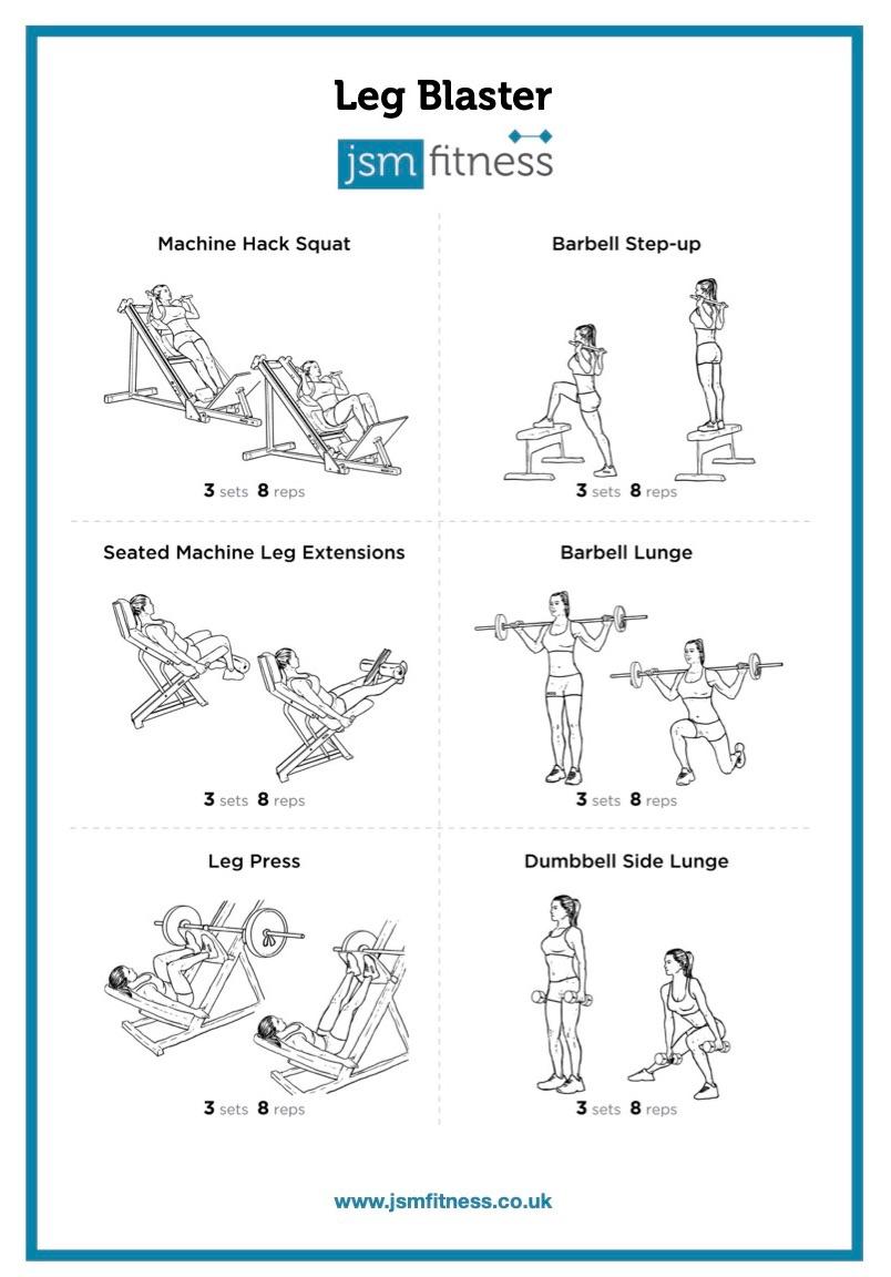 Leg Blaster - JSM Fitness