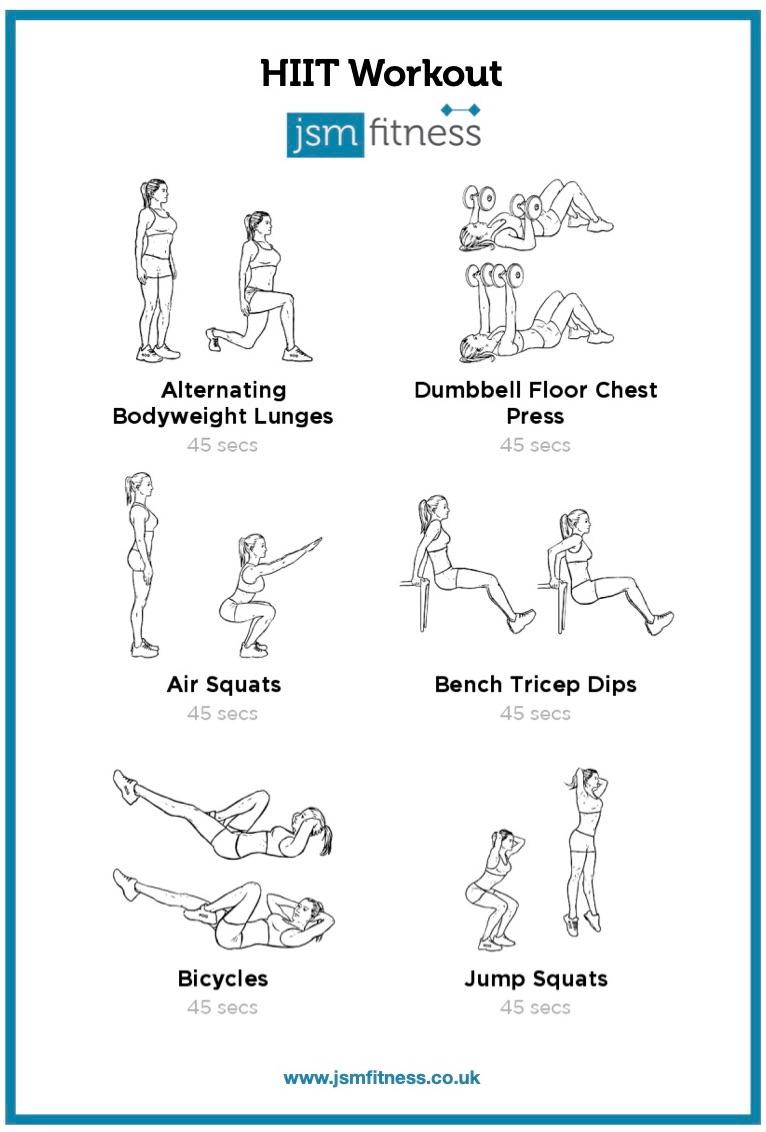 HITT - JSM fitness  -  Personal Trainer