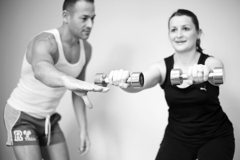 JSM Fitness - Juan & Laura - Lat Raise  - BW