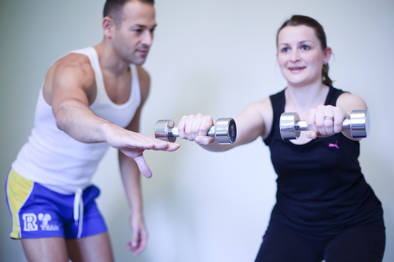JSM Fitness - Juan and Laura -Lat Raisecol