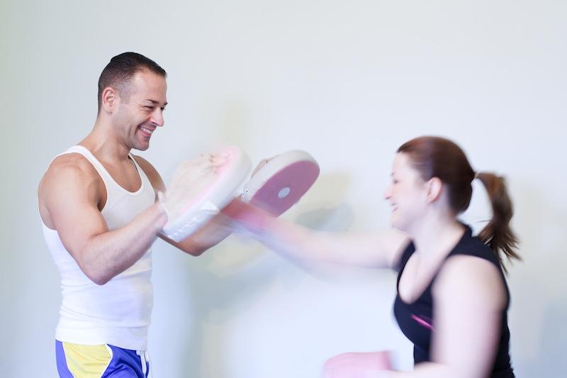 JSM Fitness - Juan & Laura Boxing  - Col