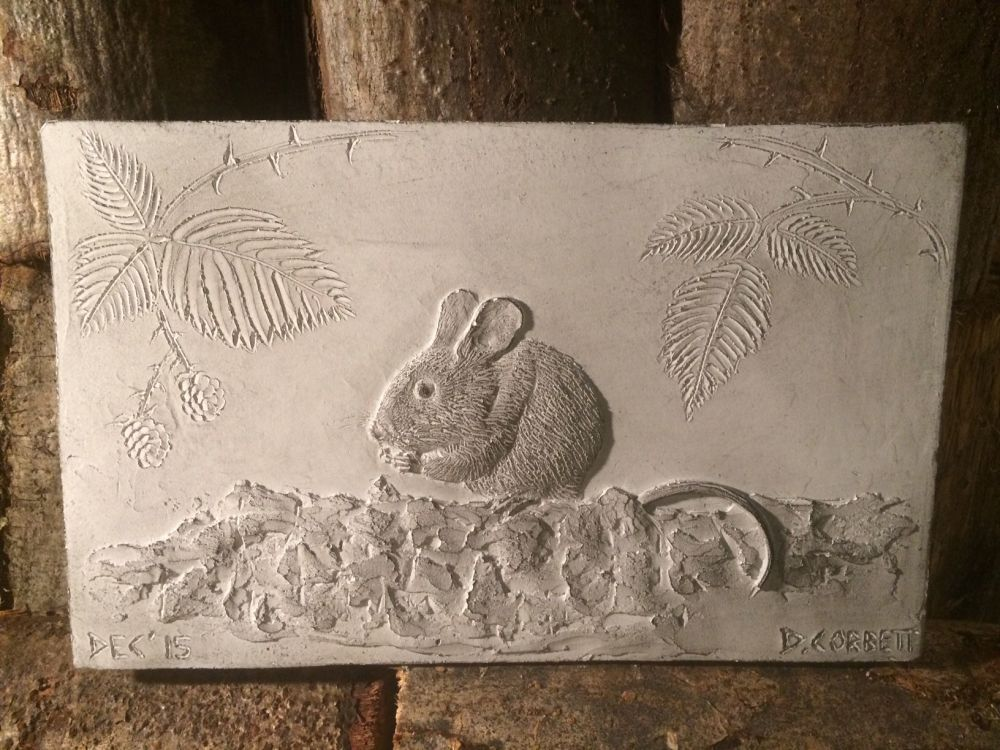 Woodland Mouse Wall Art