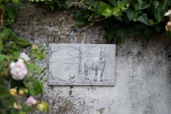 Shire Horse Plaque, Cast Stone