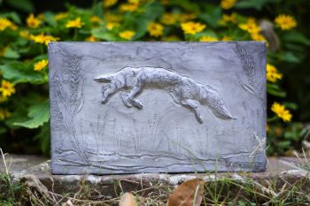 Fox Garden Sculpture, Garden Art