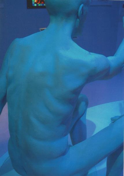 Lifesize figure sculpture
