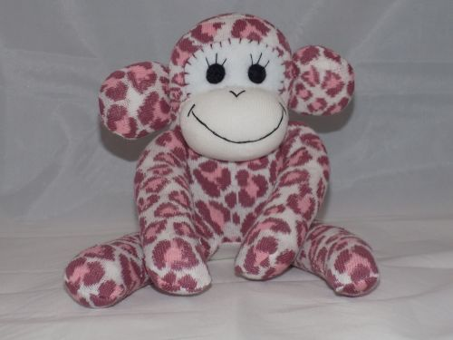 Sock Monkey Animal Print Design