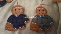 Businessman in Suit Gingerbread