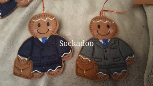 Businessman in Suit Gingerbread
