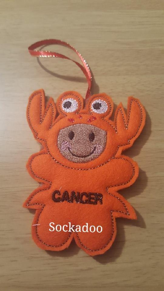 Zodiac CANCER Gingerbread