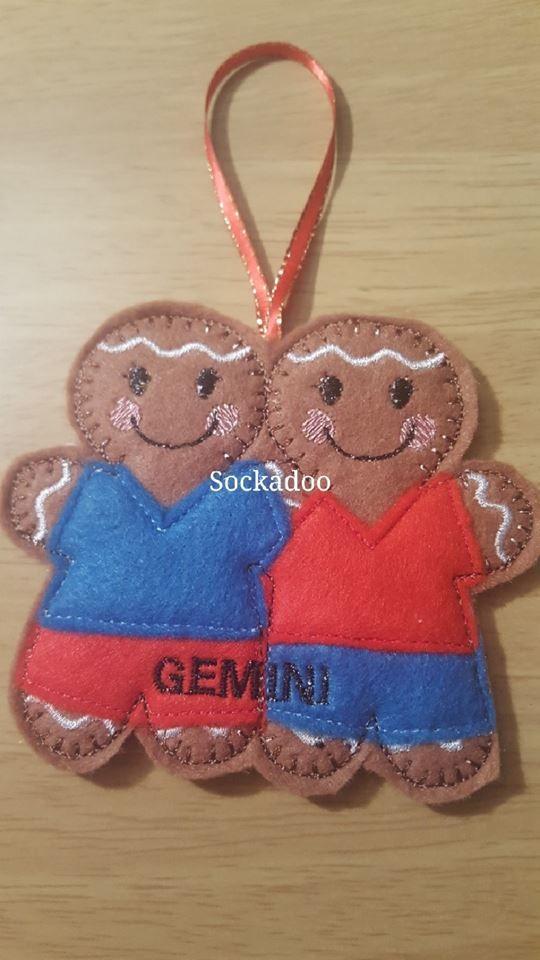 Zodiac CAPRICORN Goat Gingerbread