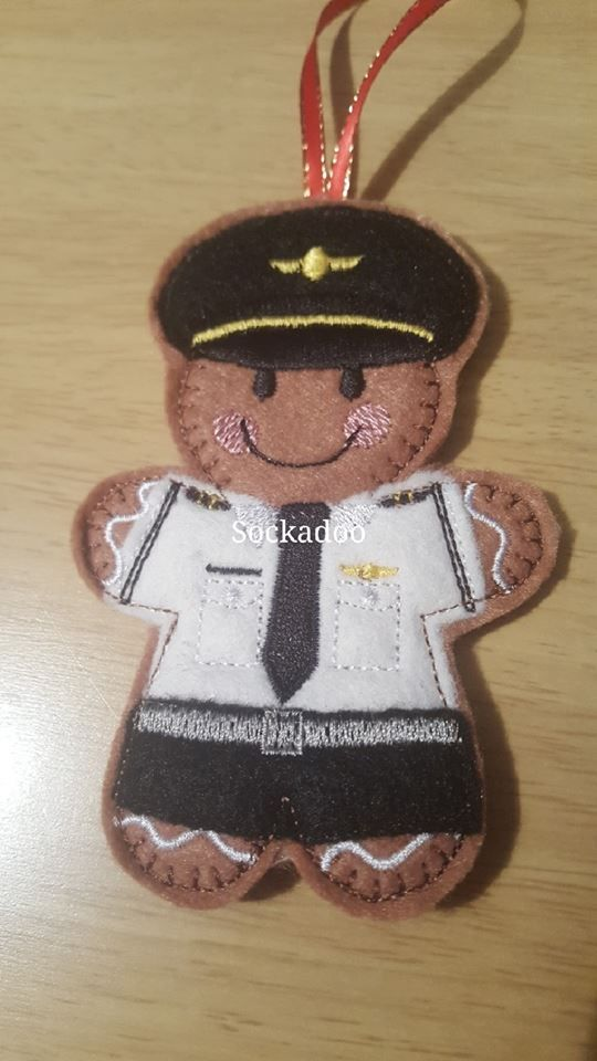 Air Hostess Gingerbread