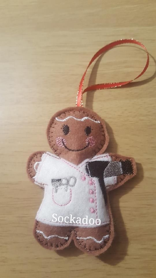 Hairdresser Gingerbread