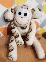 Christmas Pudding Sock Monkey