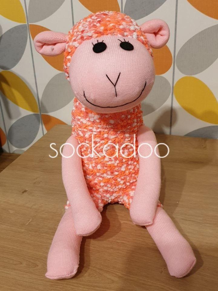 Pink Sock Lamb sheep