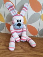 Stripey Sock Bunny/Rabbit