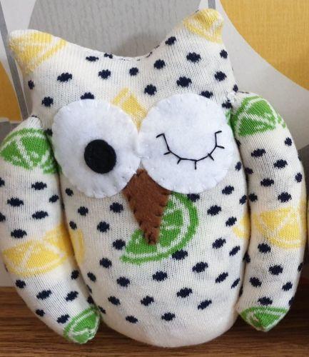 Sock Owl Lemon & Lime Design