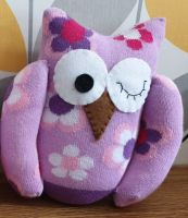 Lilac Sock Owl Flower Design